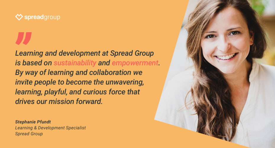 Stephanie Pfundt, Learning & Development Specialist