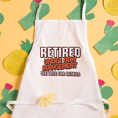 Retirement Aprons